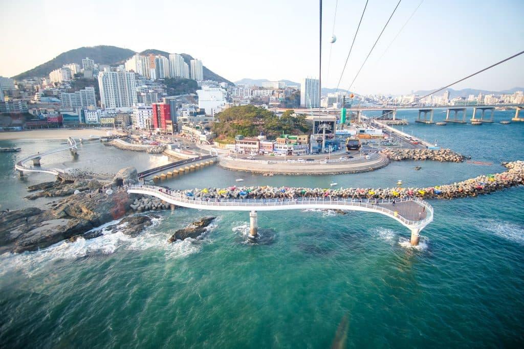 Songdo Beach south korea