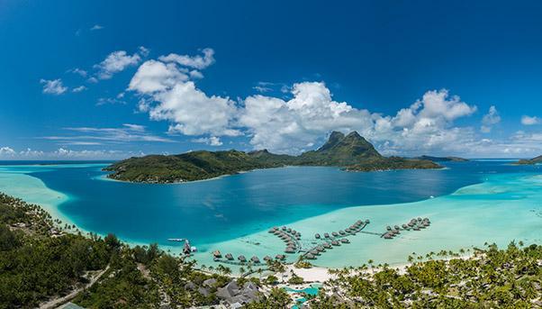 Città galleggiante Polinesia