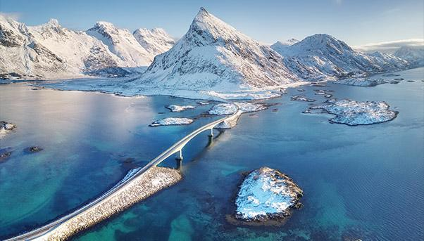 Lofoten Islands from above