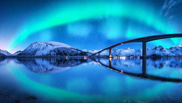 Longest Floating Bridge, Norway