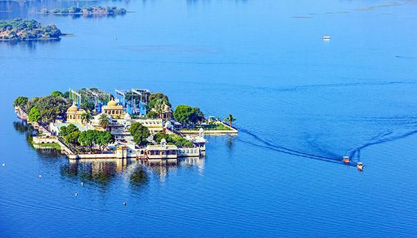 Floating city India