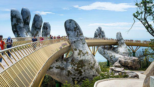 Vietnam's Golden Bridge