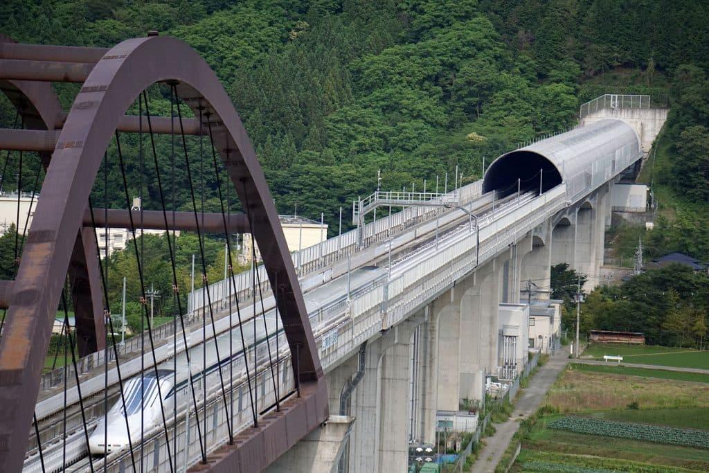Treno a levitazione magnetica Giappone