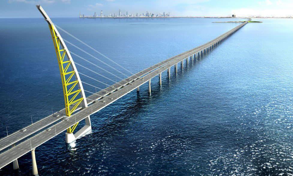 Ponte Sheikh Jaber Al-Ahmad Al-Sabahis, Kuwait
