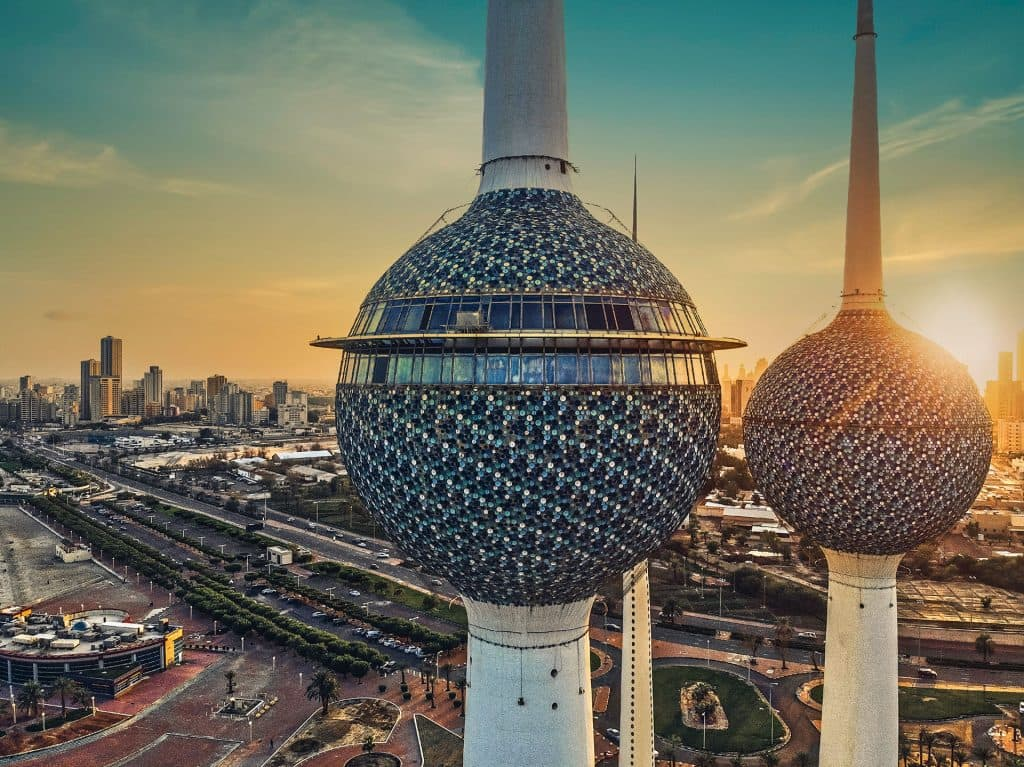 Le imponenti Kuwait Towers